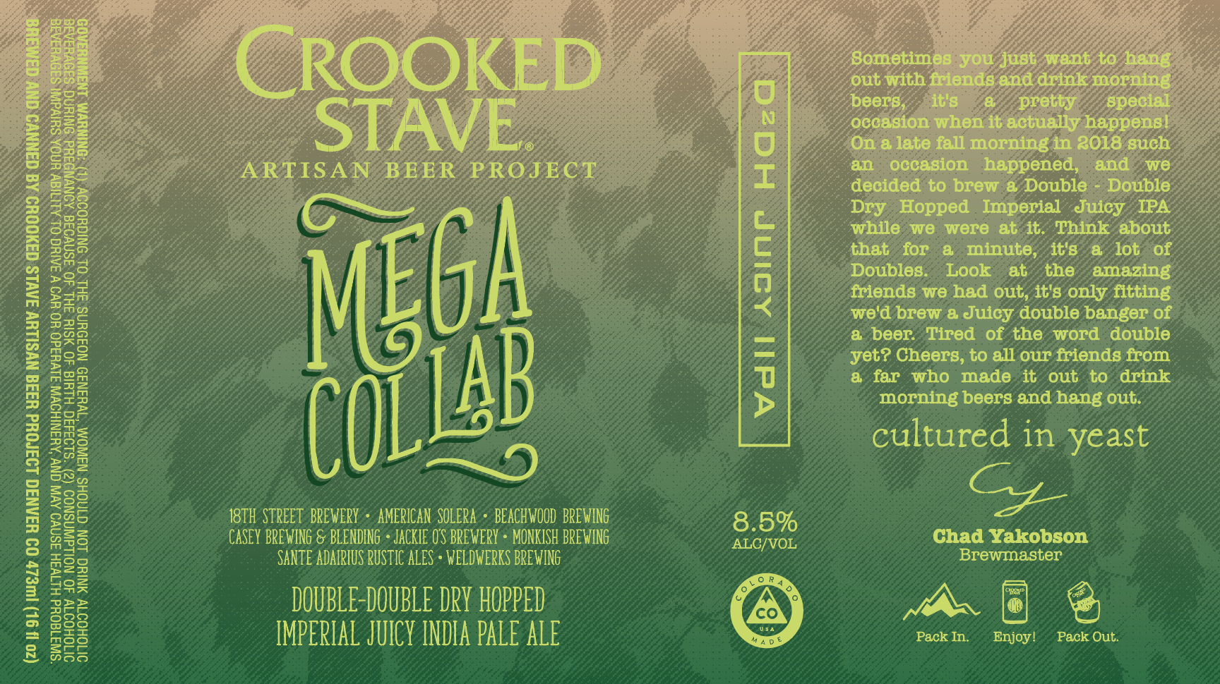 Crooked Stave Artisan Beer Project Announces Black Friday Releases