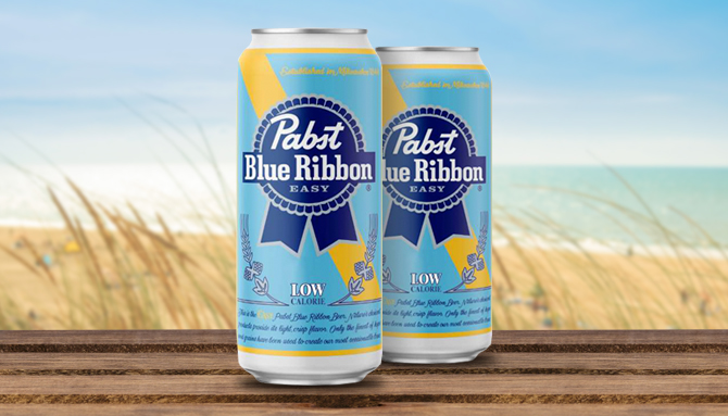 Pabst Blue Ribbon Easy