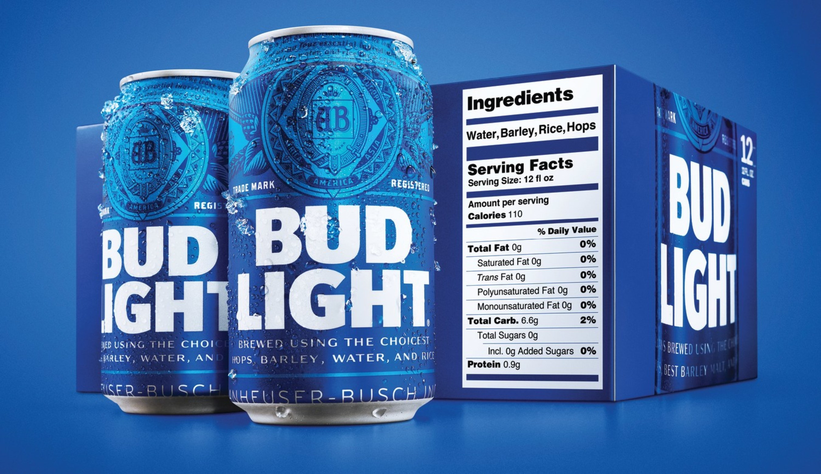 NEW YORK — Bud Light became the first beer in the United States to add a comprehensive on-pack serving facts and ingredient label, with the unveiling of a ...