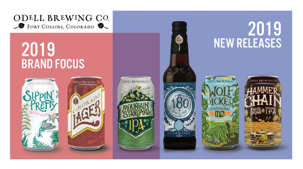 Odell Brewing Announces 2019 New Releases | Brewbound