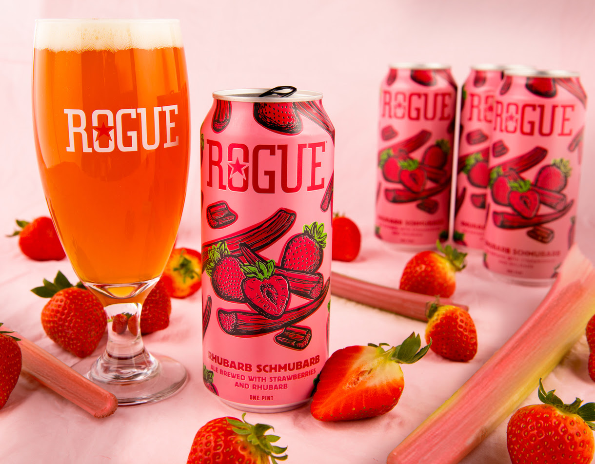 Rogue to Release Rhubarb Schmubarb Fruited Ale
