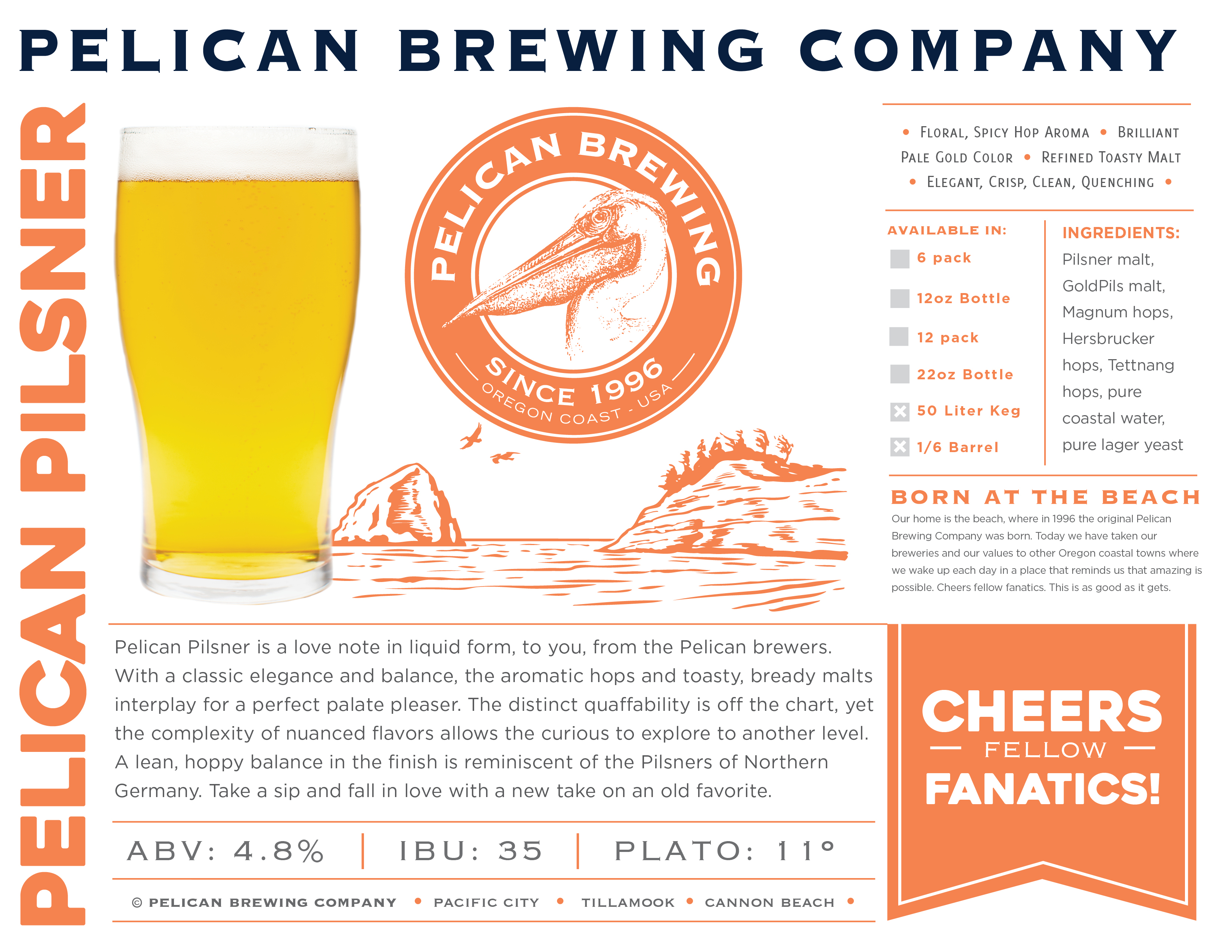 Pelican Brewing Company Releases Pilsner | Brewbound