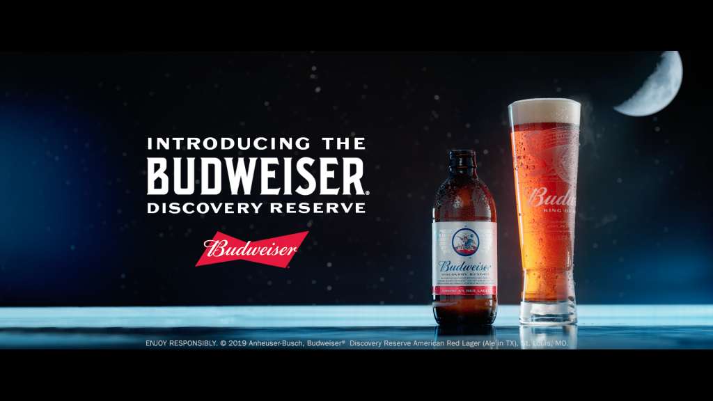 Anheuser Busch Launches Budweiser Discovery Reserve Lager To Honor Moon Landing