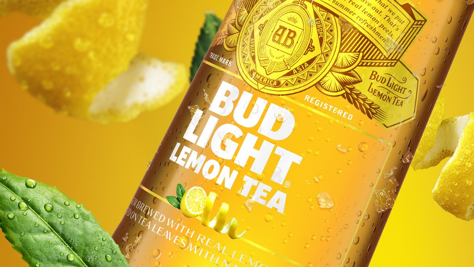 Anheuser-Busch InBev Releases Bud Light Lemon Tea | Brewbound com