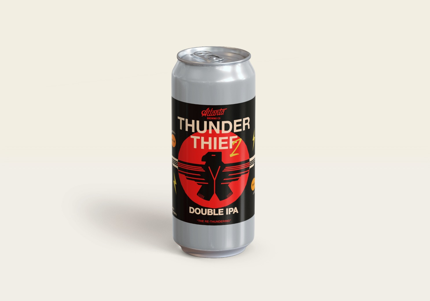 Atlanta Brewing Co  Re-Releases Thunder Thief Double IPA