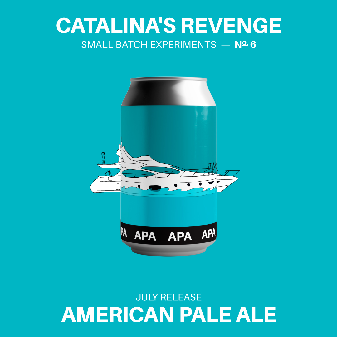Iron Fist Brewing Releases Catalina's Revenge West Coast
