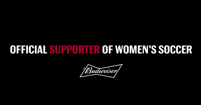 Last Call: Budweiser Becomes 'Official Beer' of Women's Soccer