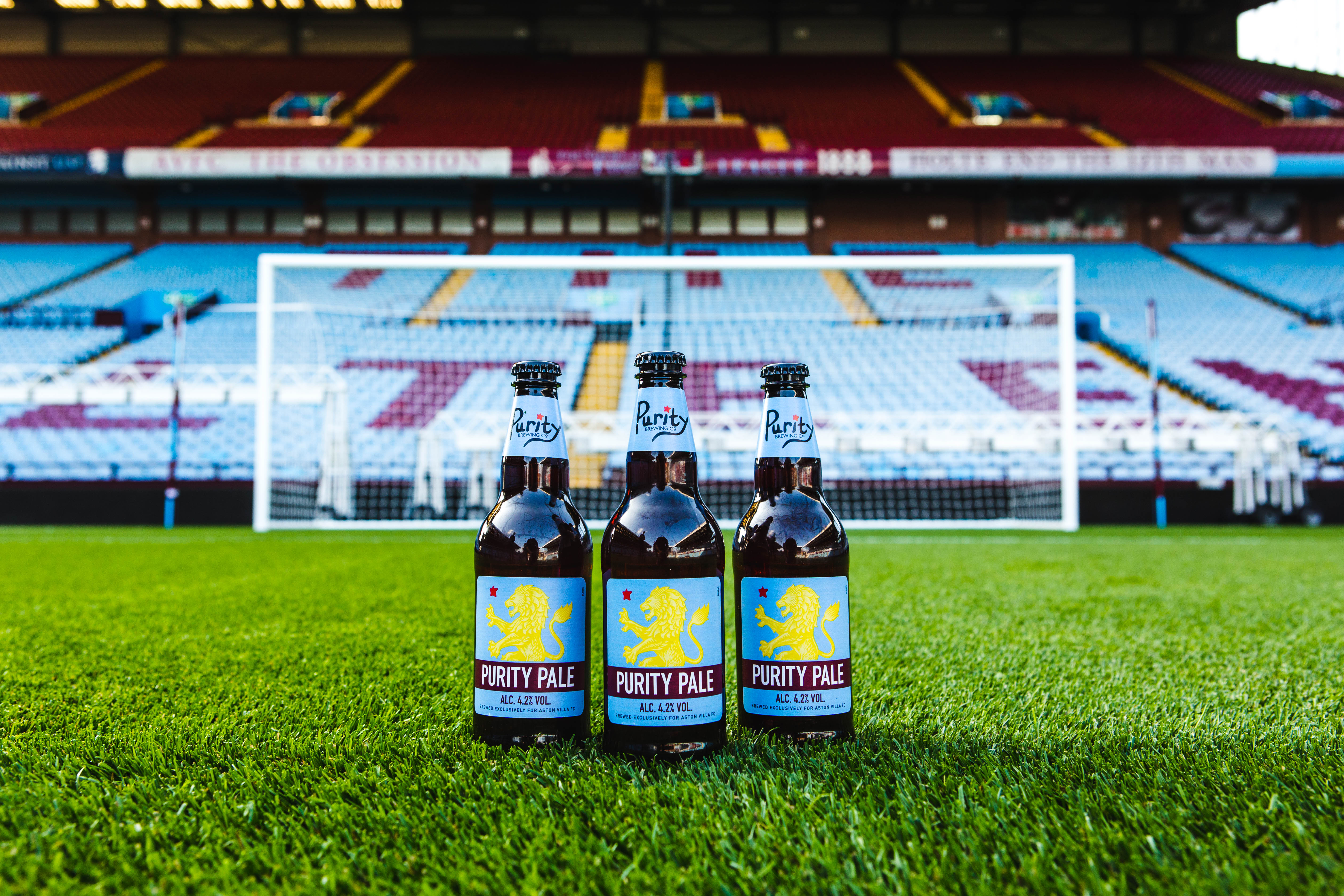 Purity Brewing Named Official Ale Supplier To Premier League Aston Villa Fc Brewbound