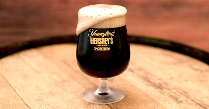 Hershey's and Yuengling team up for launch of Chocolate Porter