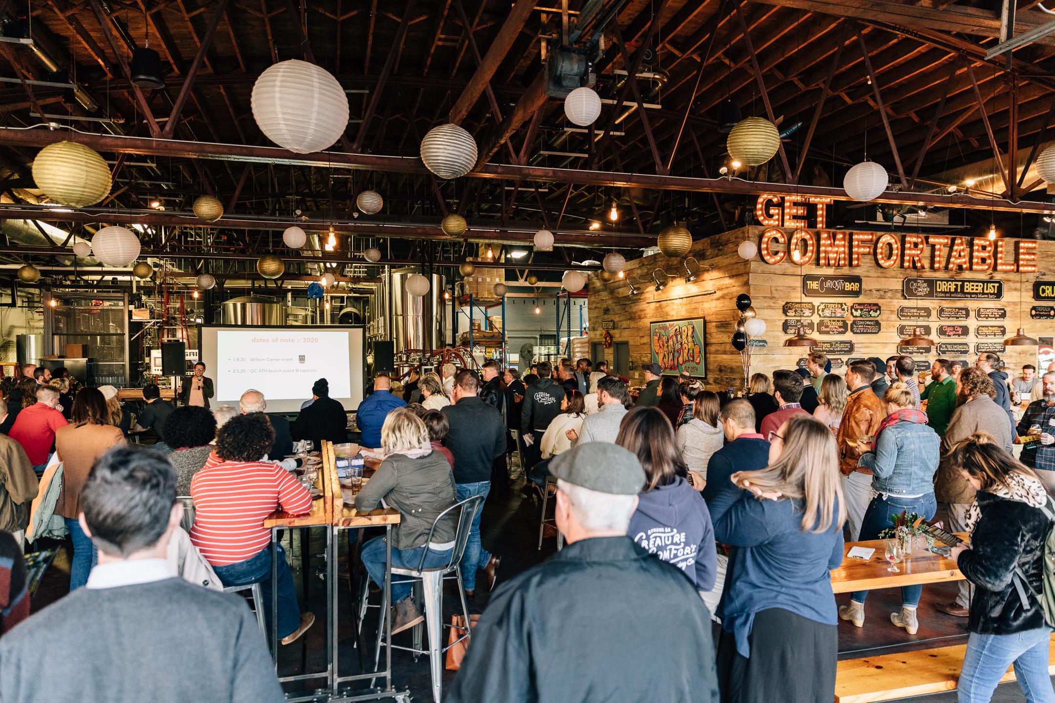 Beers List 2020.Creature Comforts Raises 351 841 For Get Comfortable 2019