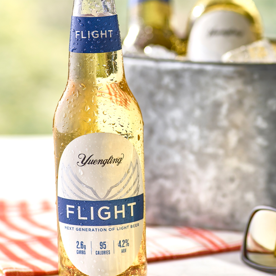 Yuengling Targets Active Lifestyle Consumers With Low Calorie Low Abv Light Lager Flight Brewbound