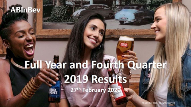 Low China beer sales during Chinese New Year strike AB InBev profits