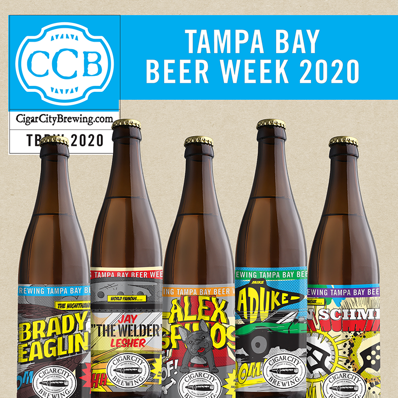 Cigar City Brewing To Release Unsung Heroes And Barrel Aged Beers For Tampa Bay Beer Week Brewbound