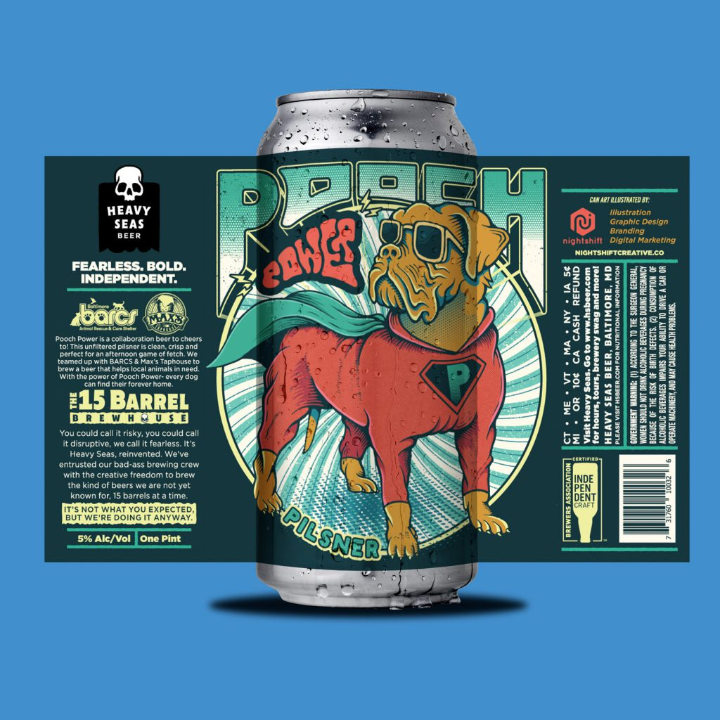 Barcs Calendar 2021 Signing Heavy Seas, Max's Taphouse & BARCS collaborate on Pooch Power