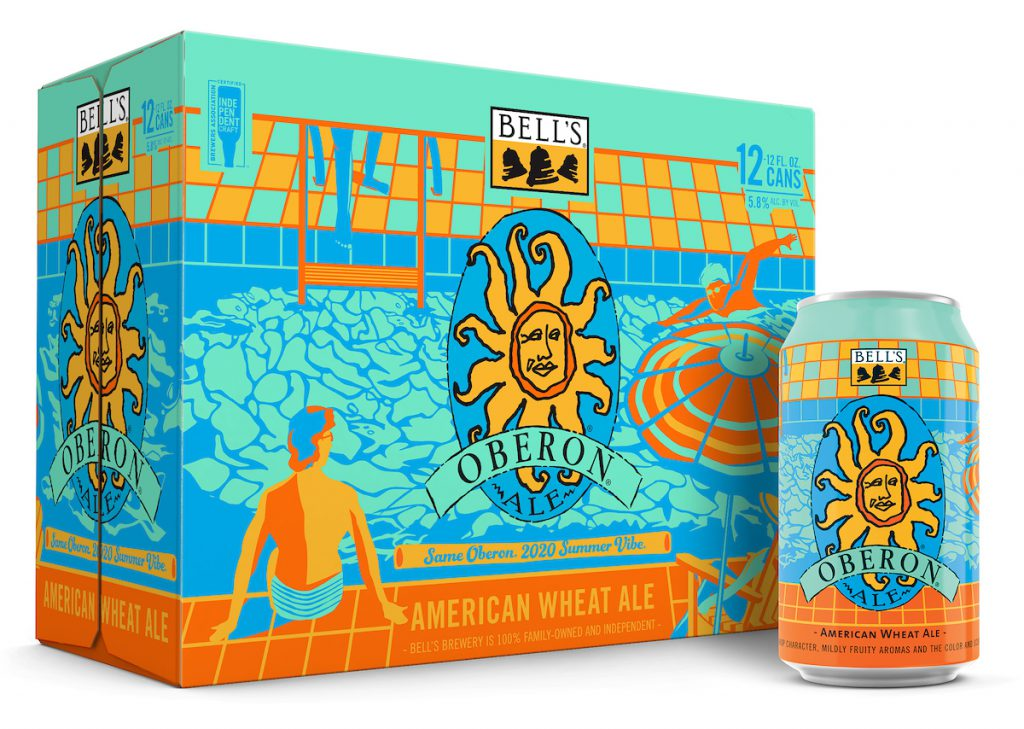 Bell S Two Hearted 12 Packs Limited Edition Oberon And Mini Kegs Now Shipping Brewbound