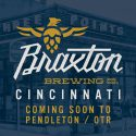 Braxton Brewing to Take Over 3 Points Urban Brewery Location in Cincinnati