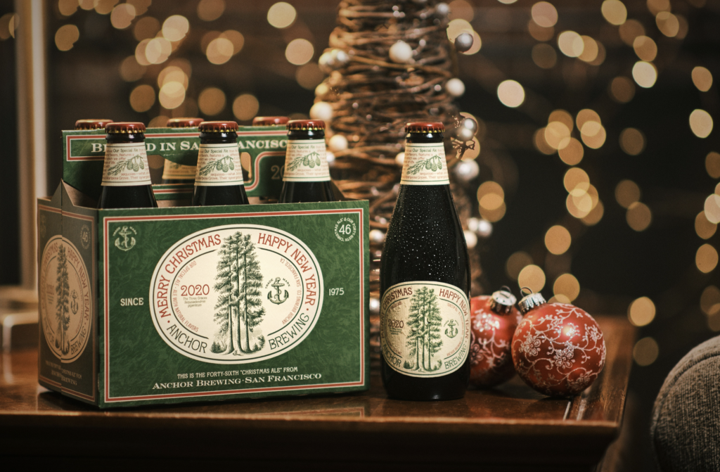 2020 Anchor Merry Christmas Ale Anchor Brewing Company Debuts the 46th Annual Christmas Ale