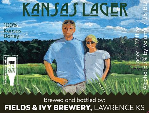 Fields & Ivy Brewery Announces Kansas Lager, Brewed with 100% Barley Malt Grown in Kansas