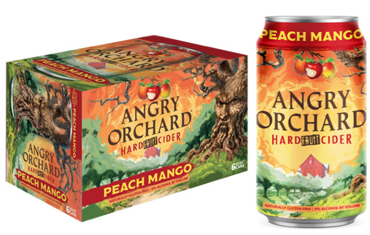 Boston Beer Launches Angry Orchard Peach Mango and Strawberry Fruit Ciders  | Brewbound